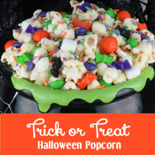 Trick or Treat Halloween Popcorn