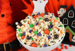 Trick or Treat Halloween Popcorn
