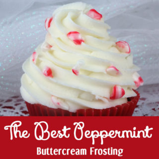 The Best Peppermint Buttercream Frosting
