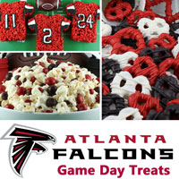Atlanta Falcons Game Day Treats