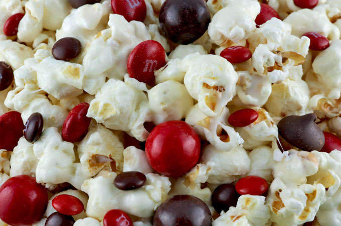 Candy Mix-ins for the Atlanta Falcons Popcorn