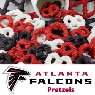 Atlanta Falcons Pretzels