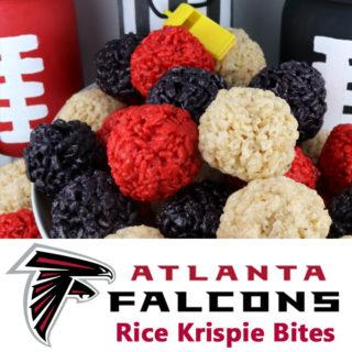 Atlanta Falcons Rice Krispie Bites