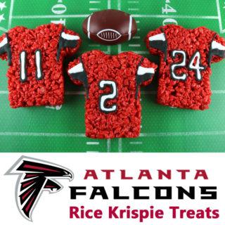 Atlanta Falcons Rice Krispie Treats