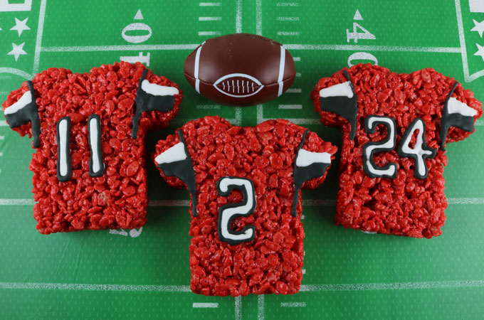 the latest e219a cd5b0 Atlanta Falcons Rice Krispie Treats - Two Sisters
