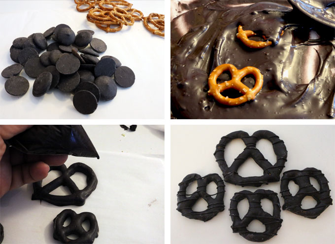 How to make Black Pretzels