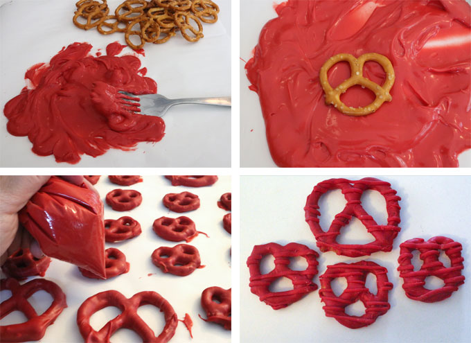 How to Make Red Pretzels