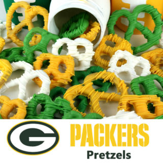 Green Bay Packers Pretzels