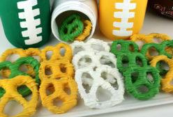 Green Bay Packers Pretzels