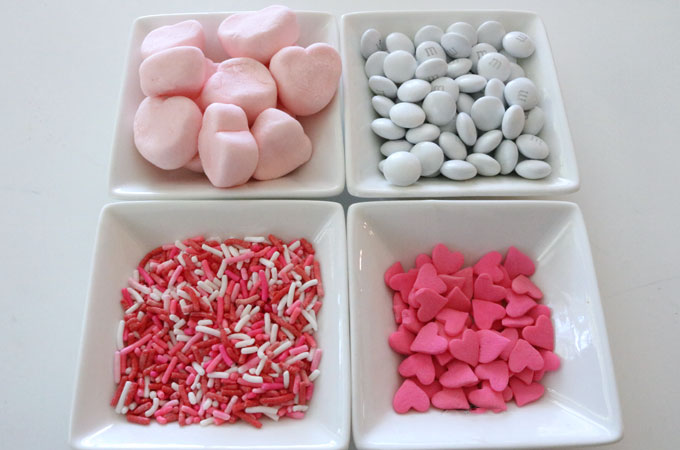 Candy for the Marshmallow Heart Popcorn