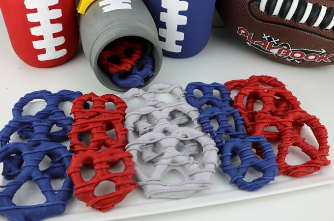 New England Patriots Pretzels Two Sisters