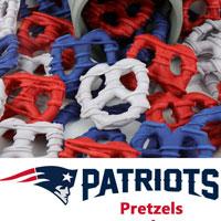 New England Patriots Pretzels