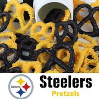 Pittsburgh Steelers Pretzels