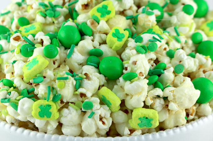 st patrick s day popcorn two sisters