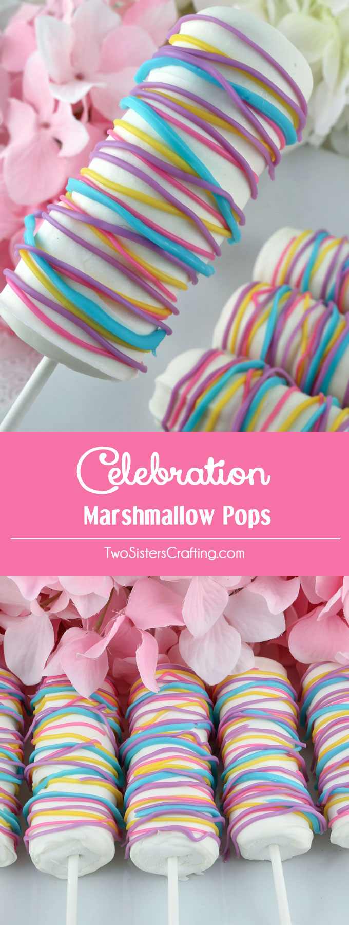 Celebration Marshmallow Pops Two Sisters