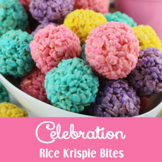 Celebration Rice Krispie Bites
