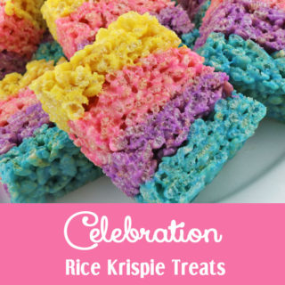 Celebration Rice Krispie Treats