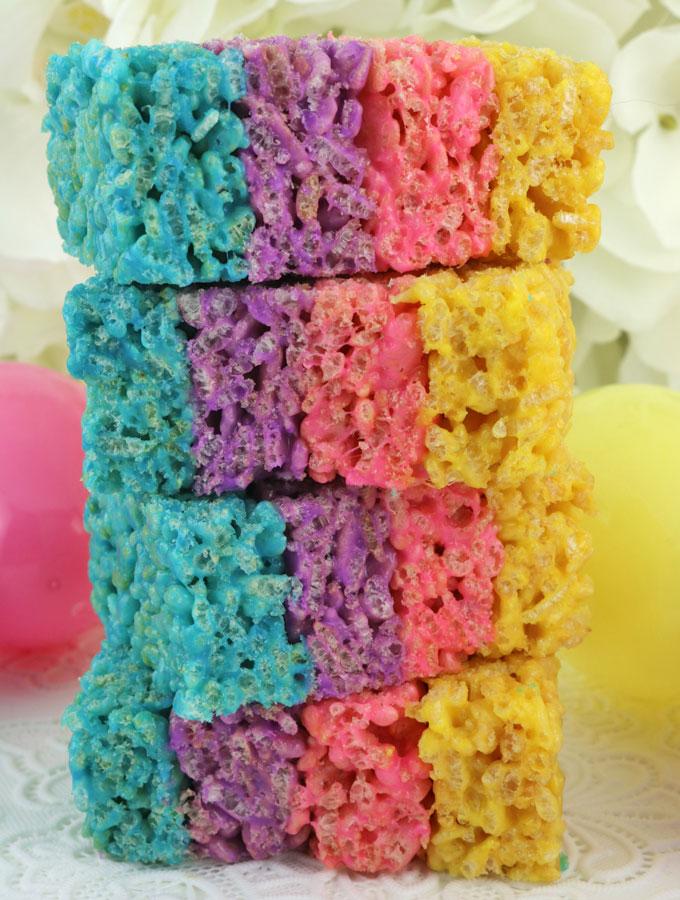 Marshmallow Rice Krispie Cakes Recipe