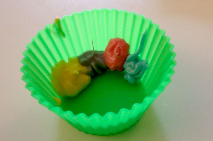 Making an Easter Candy Cup