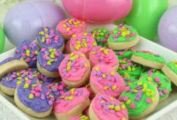 Easter Egg Sugar Cookie Bites