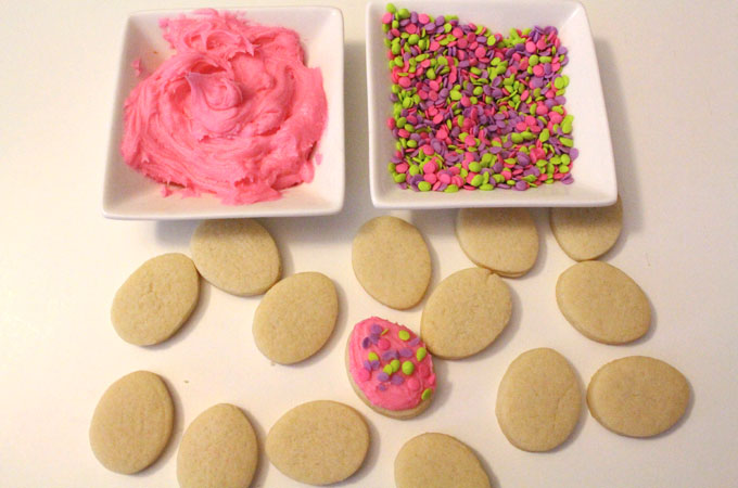 Pink Buttercream Frosting