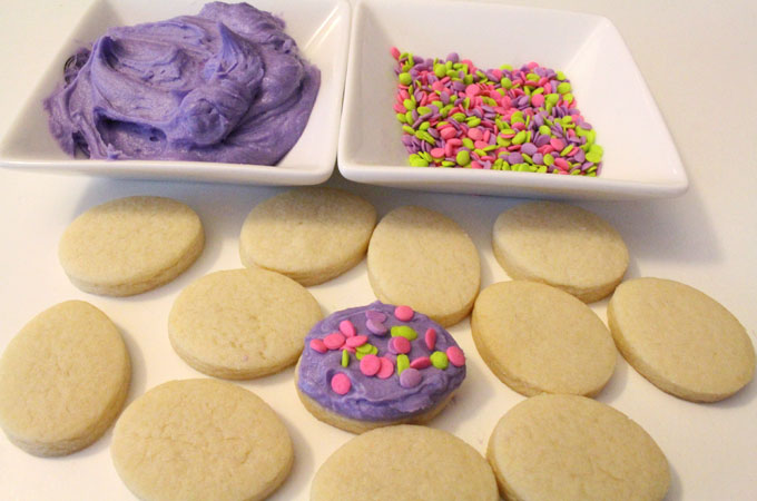 Purple Buttercream Frosting