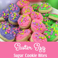 Easter Egg Sugar Cookie Bites