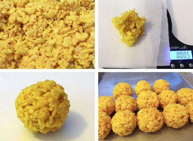 How to make Rice Krispie Bites - Yellow