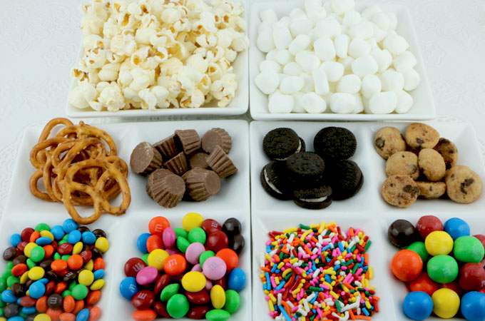Candy Mixins for the Sing Popcorn
