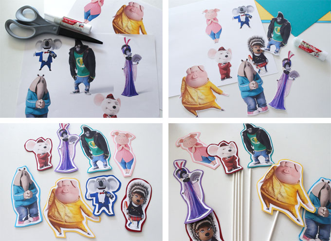 Sing Character Sticks