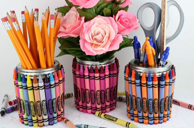 Crayon mason jar teacher gift two sisters crayon mason jar teacher gift all you need is a mason jelly jar a negle Image collections
