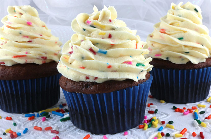Cake Batter Buttercream Frosting Two Sisters