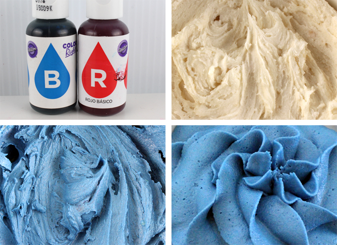 How to make Patriotic Blue Frosting