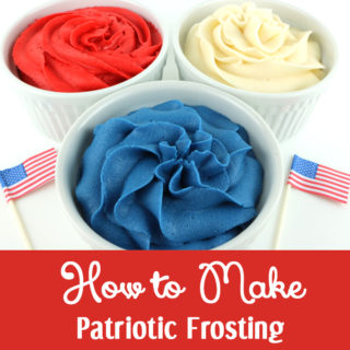 How to Make Patriotic Frosting
