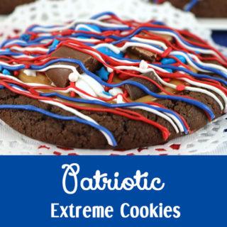 Patriotic Extreme Cookies