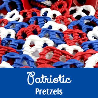 Patriotic Pretzels