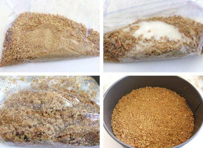 S'more Pie - Graham Cracker Crust