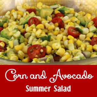 Corn and Avocado Summer Salad