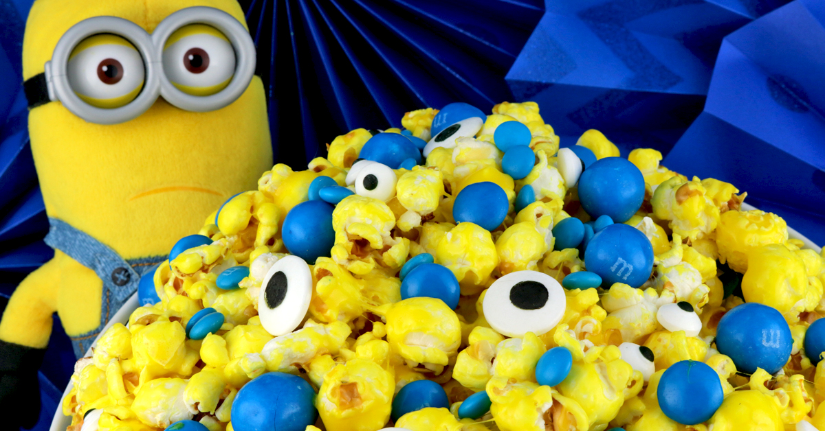 Minions Popcorn Two Sisters