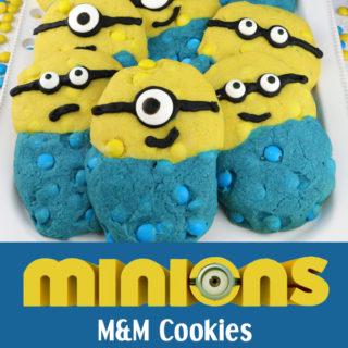 Minions M&M Cookies