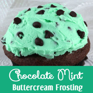 Chocolate Chip Buttercream Frosting