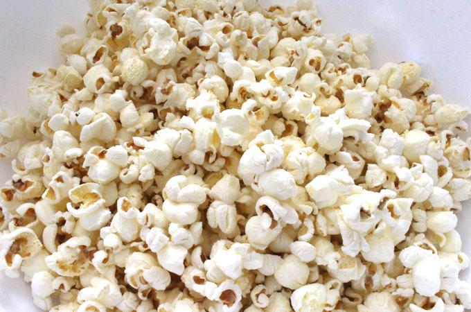 Popcorn for Chocolate Mint Popcorn