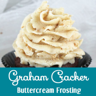 Graham Cracker Buttercream Frosting