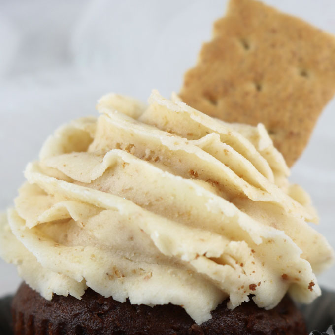 Graham Cracker Buttercream Frosting is the perfect frosting for cupcakes or cakes. It is super delicious and so easy to make. Creamy, buttery with just a hint of graham cracker this butter cream icing recipe is a keeper. Your family will beg you to make this yummy frosting again and again. Follow us for more great Frosting Recipes!