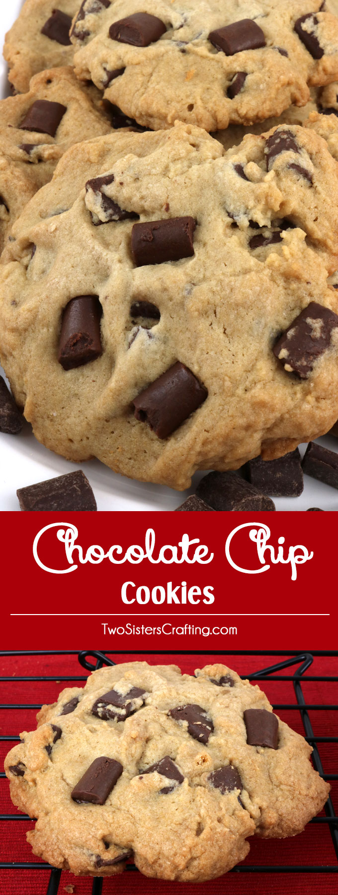 Chocolate Chip Cookies - Two Sisters Crafting
