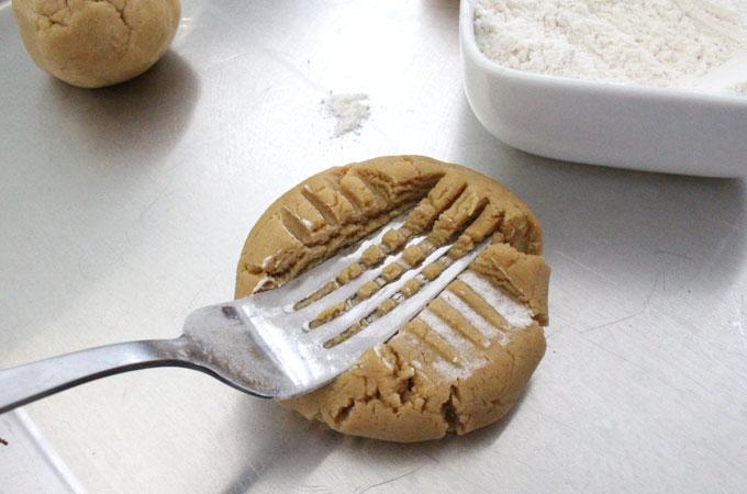 Add Criss Cross to Peanut Butter Cookie Dough balls