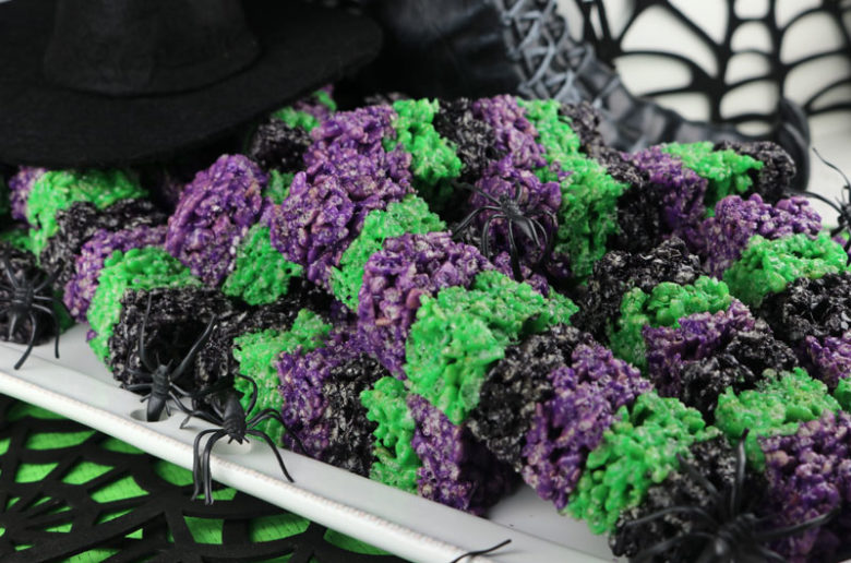 Bewitched Rice Krispie Wands