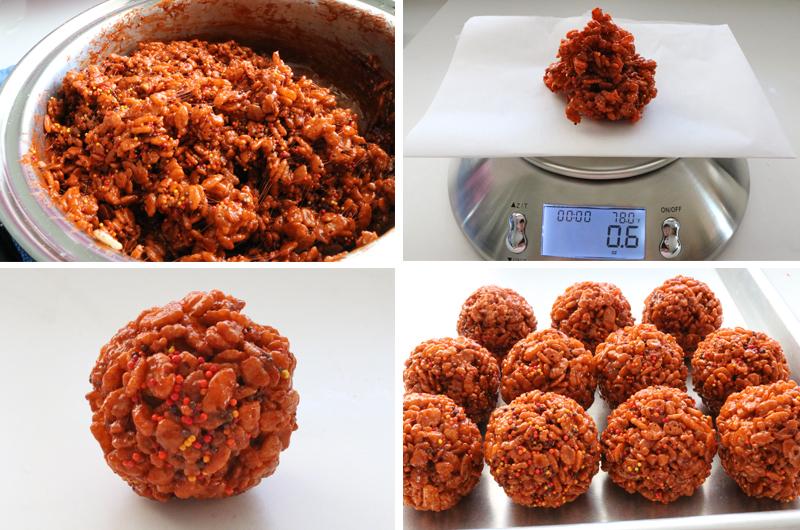 How to make Brown Rice Krispie Bites