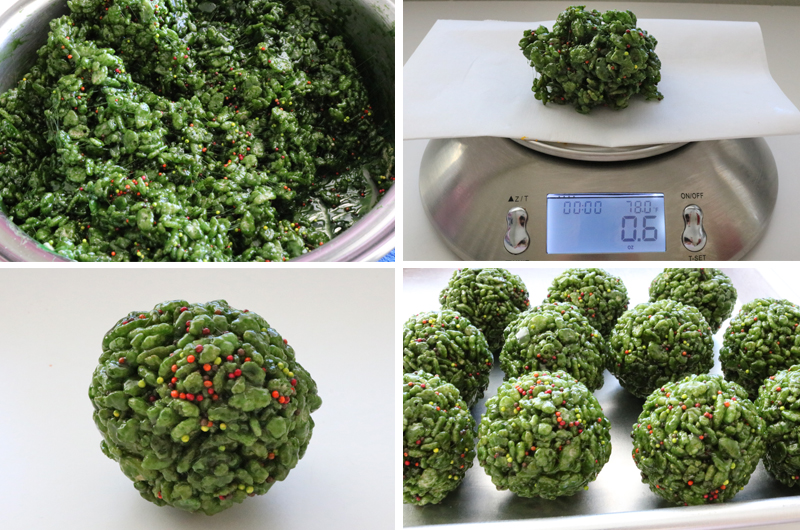 How to make Sage Rice Krispie Bites
