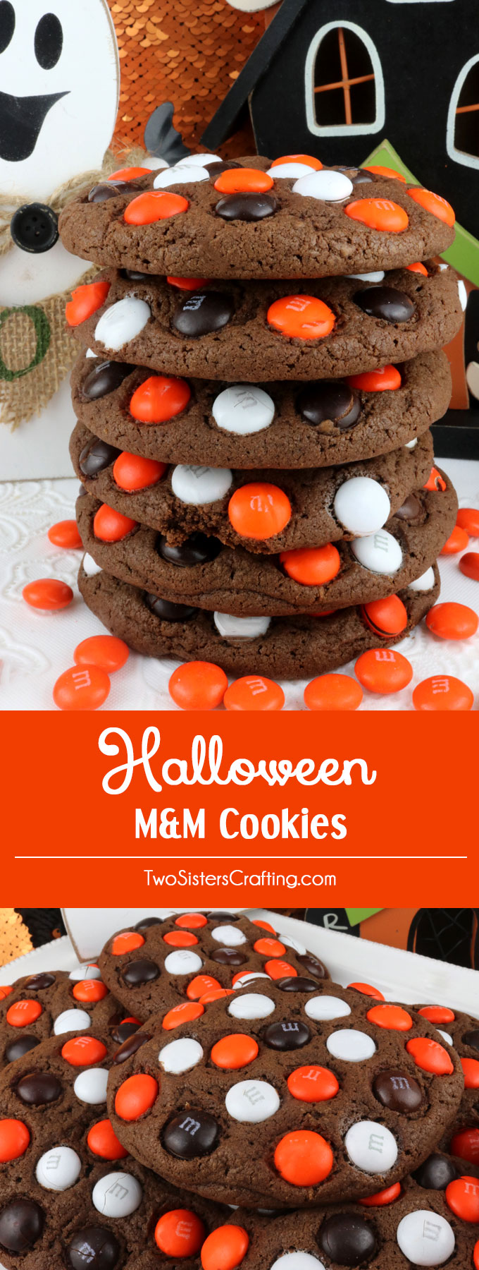 halloween mm cookies
